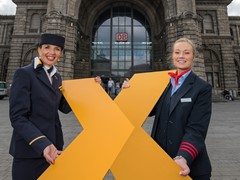 Many new destinations for Lufthansa Express Rail