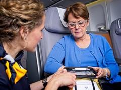 EKG in 10.000 Meter Höhe: Lufthansa nutzt Telemedizin an Bord ihrer Langstrecke