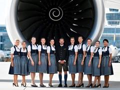Take-off zum größten Volksfest der Welt:  Lufthansa startet mit größter Trachtencrew aller Zeiten
