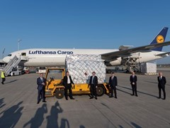 Eight million protective masks arrived in Munich