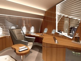 LHT A350 VIP Cabin concept WELCOME HOME_Office
