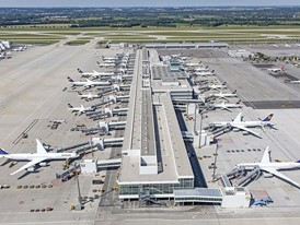 Munich Airport's midfield terminal