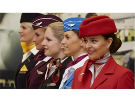 Flight attendants of Lufthansa Group