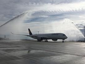 Zweite Lufthansa A350-900 in München gelandet