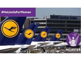 Lufthansa bietet Frauen die Möglichkeit eines Schnuppertages im Unternehmen