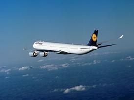 A340-600 of Lufthansa