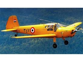 Ägyptischer Lizenznachbau: Die Gomhouria 181Mk6 hat Ungerer restauriert - und er fliegt sie auch.