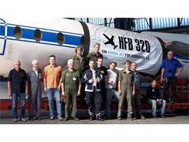 Vereinsgründung für Restauration: Die 'HFB 320 Hansa Jet' wird aktuell in Finkenwerder wieder flott gemacht.