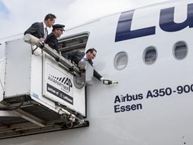 """Lufthansa Airbus A350-900 heißt jetzt """"Essen"""" 1"""