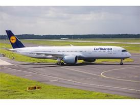 """Lufthansa Airbus A350-900 heißt jetzt """"Essen"""" 2"""