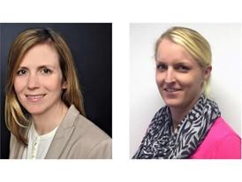 Mandy Gruhle, 39, Teamleiterin bei Lufthansa InTouch in Berlin - Nora Pipping, 34, Teamleiterin bei Lufthansa InTouch in