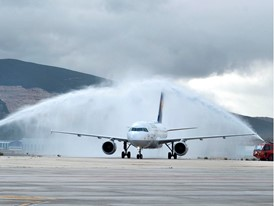 Lufthansa flies from Frankfurt to Pamplona (Spain) for the first time today
