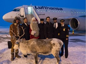 Santa Claus in Kuusamo