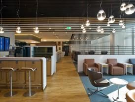 Lufthansa Lounge Milan-Malpensa