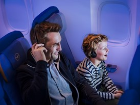 Lufthansa upgrades its in-flight entertainment program