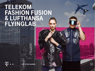 Telekom and Lufthansa cooperate for Fashion Fusion