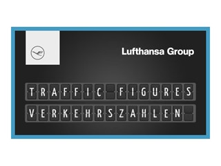 12.5 million passengers flew with the Lufthansa Group Airlines in August