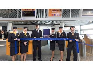 Lufthansa fliegt heute erstmals von Frankfurt nach Santiago de Compostela (Spanien)