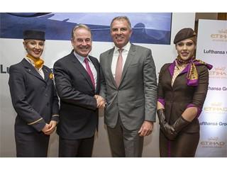 Etihad Aviation Group und Lufthansa Group weiten Kooperation aus