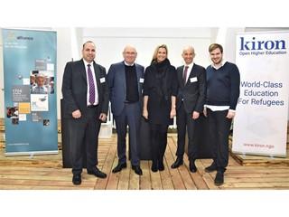 Kiron und help alliance eröffnen Study Center in Berlin