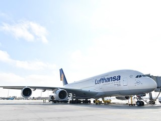 Ready for A380 take-off – Hello Los Angeles!
