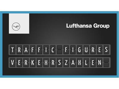 12,5 Millionen Passagiere sind im August mit den Airlines der Lufthansa Group geflogen