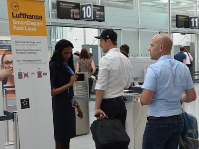 Lufthansa München: Schneller geht's nicht