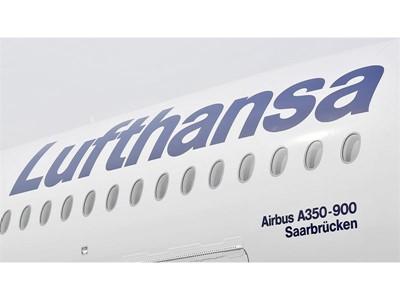 Lufthansa Airbus A350-900 trägt den Namen der Stadt Saarbrücken