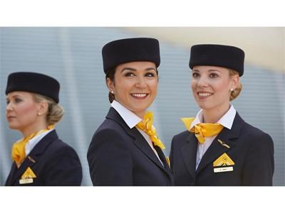 Erstes Lufthansa Flugbegleiter-Casting in Nürnberg