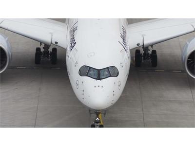 Dritte Lufthansa A350-900 in München gelandet