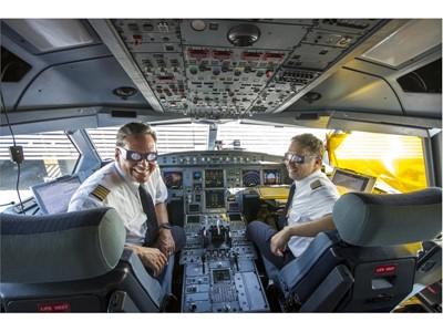 Lufthansa Eclipse Flight 2017 02