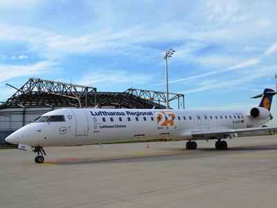 Lufthansa CityLine celebrates 25 years of Bombardier CRJ series operations