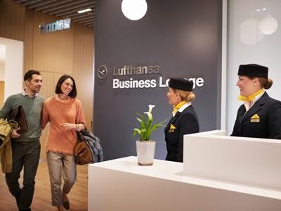 Verbesserte Services für Lufthansa-Lounge-Gäste
