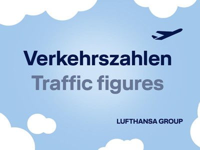 Lufthansa Group Airlines welcome around 12.2 million passengers on board in April 2018