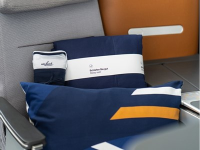 A dream! Lufthansa increases sleeping comfort in Business Class