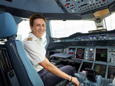 Female pilots taking off: Women have been flying for Lufthansa for 30 years