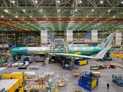 Die erste 777-9 der Lufthansa nimmt Gestalt an