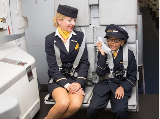 Indian Boy Wins Lufthansa Kids Contest
