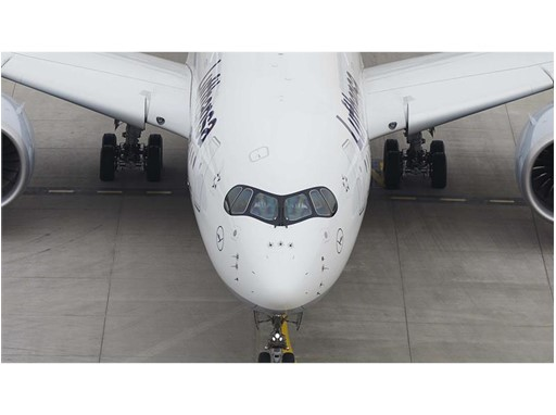 Third Lufthansa A350-900 has landed in Munich