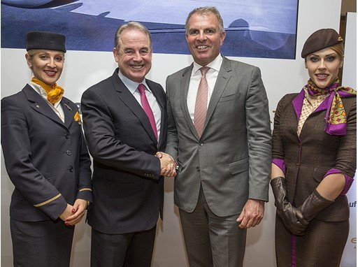 Etihad and Lufthansa Extend Cooperation