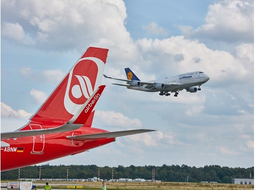Lufthansa and Air Berlin