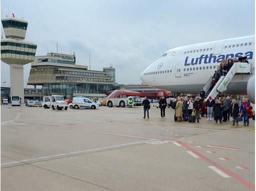 Massive increase in flights - Kapazitätserweiterung