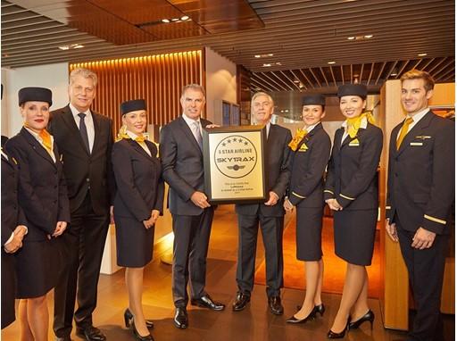 Five-Star Airline Lufthansa - Skytrax