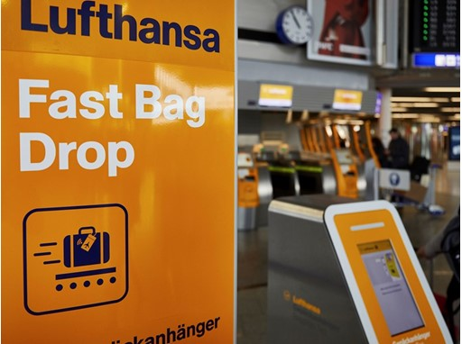 Fast Bag Drop - Frankfurt Airport