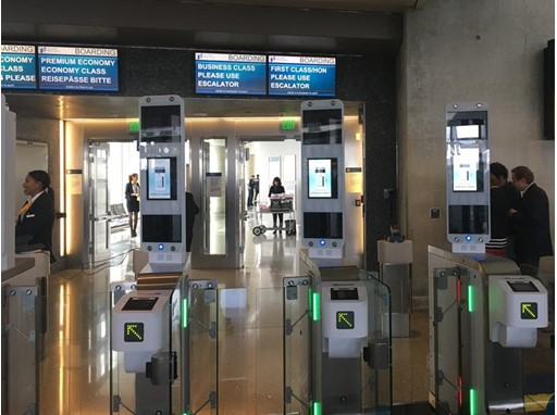 Biometrics trial at LAX