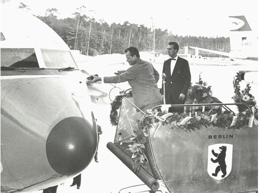 The first Lufthansa aircraft was named in 1960