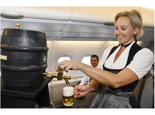 Draft beer on board