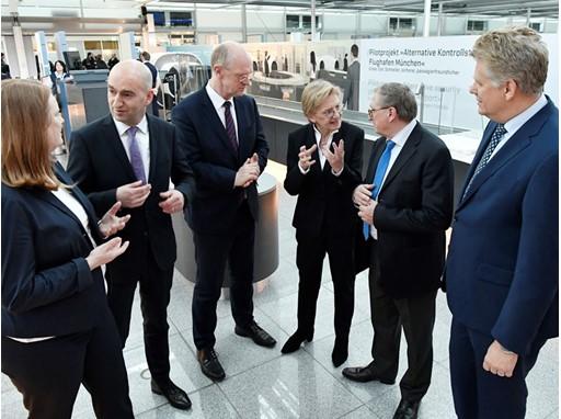 Neue Sicherheitskontrolle in München
