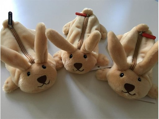 Drei Hasen-Schulmäppchen