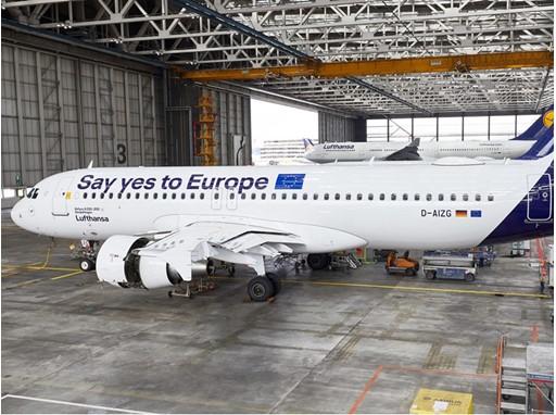 A320 - SayYesToEurope